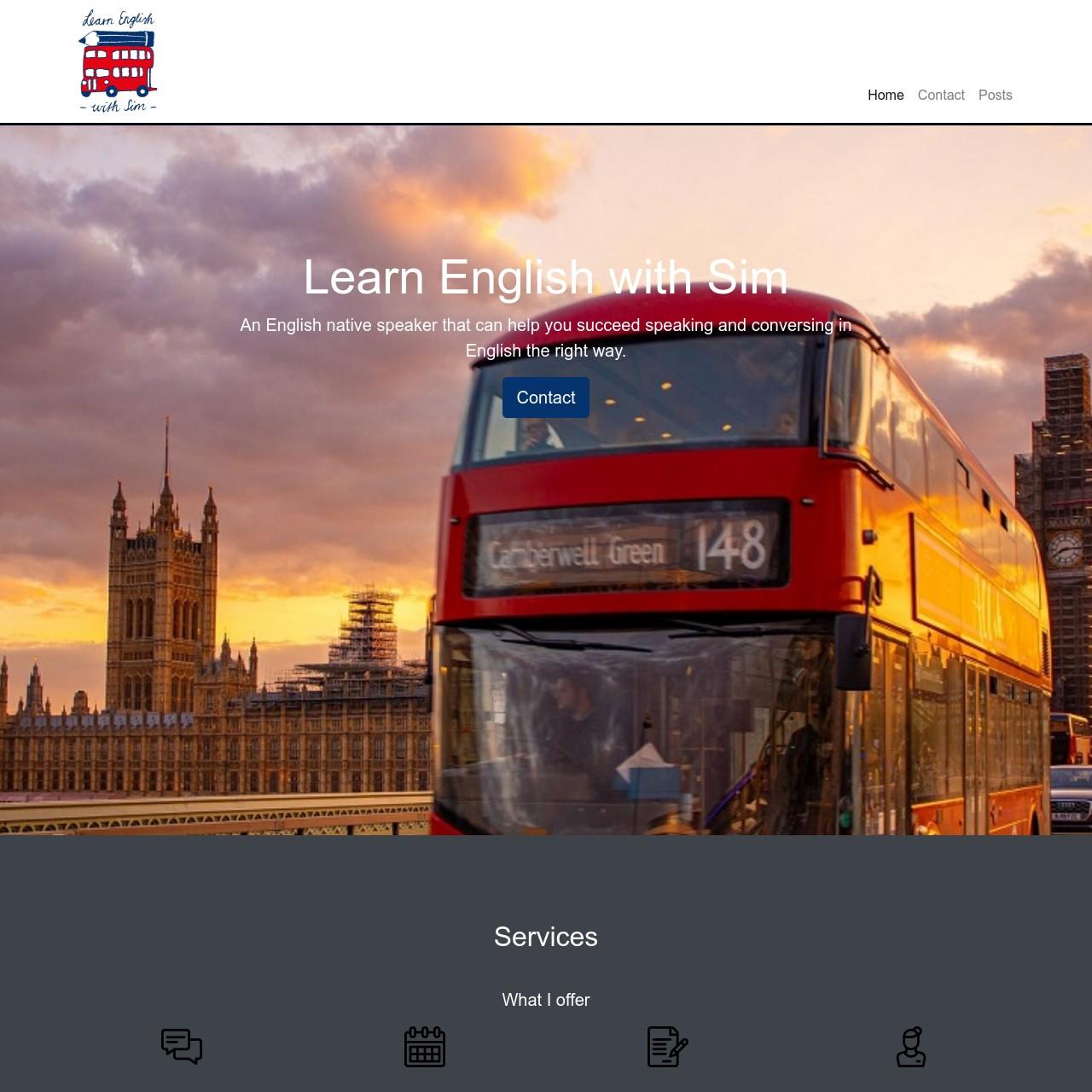 Learn English with Sim
